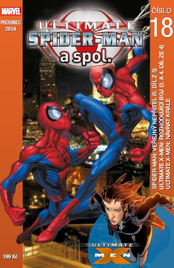 Ultimate Spider-man a spol. 18 - Brian Michael Bendis