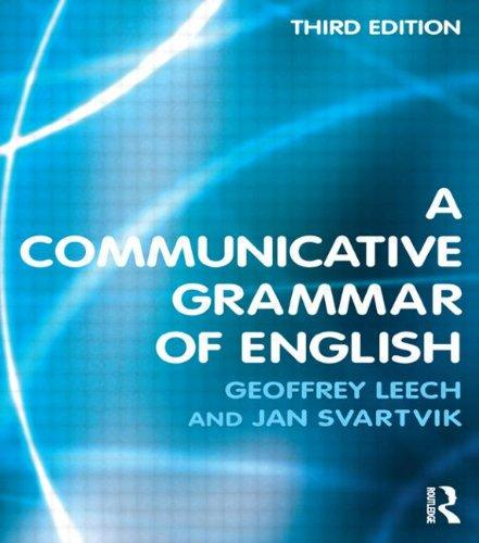 A Communicative Grammar of English