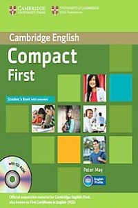 Compact First Student's Book with answers + CD ROM - Peter M...