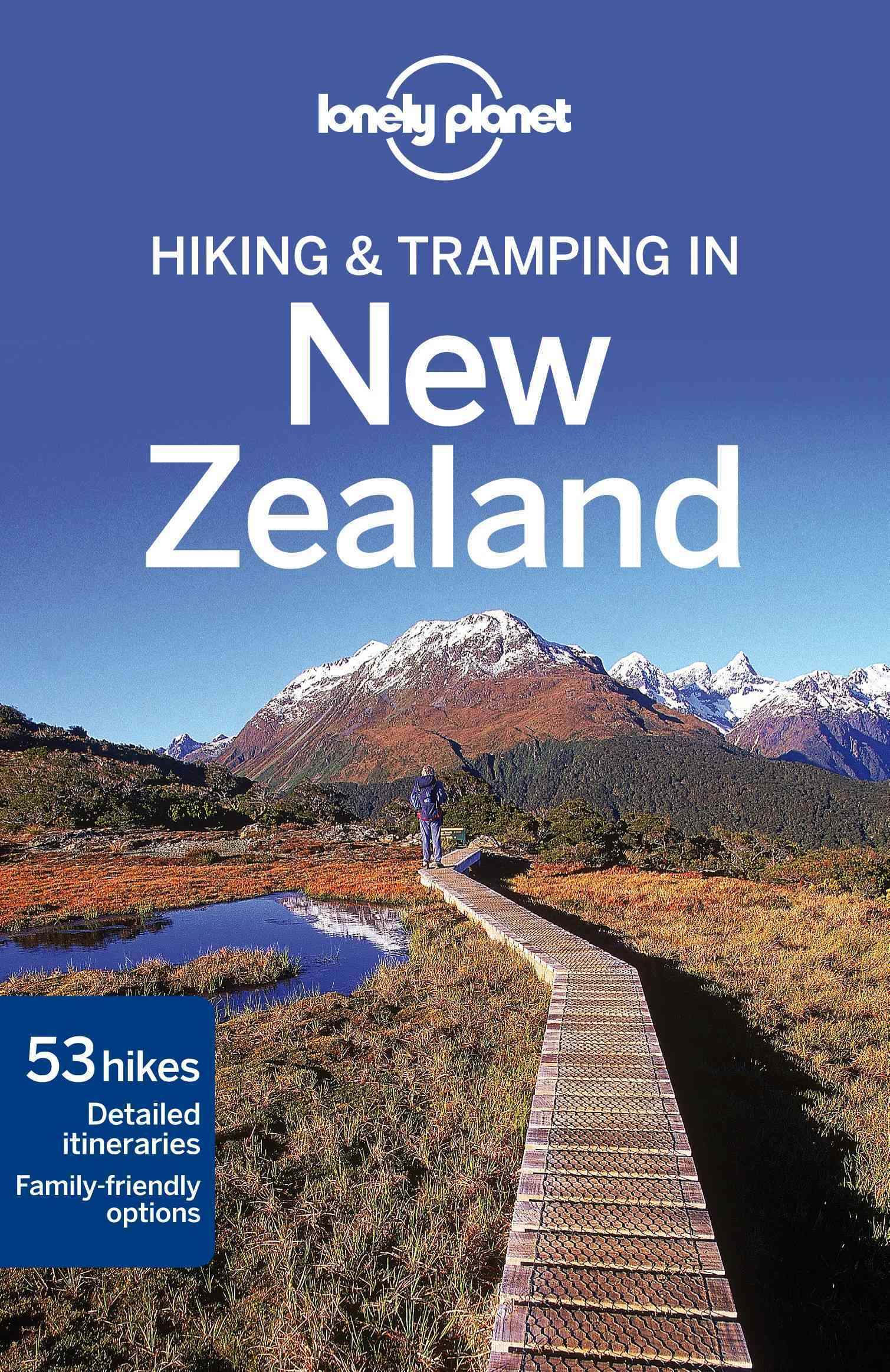 Lonely Planet Hiking & Tramping in New Zealand 7.