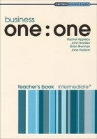 BUSINESS ONE : ONE INTERMEDIATE+ TEACHER´S BOOK - APPLEBY, R...
