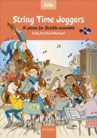 STRING TIME JOGGERS CELLO BOOK with AUDIO CD - BLACKWELL, K....