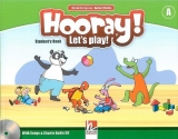 HOORAY, LET´S PLAY! A STUDENT´S BOOK WITH SONGS & CHANTS AUD...