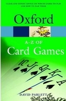 OXFORD A-Z OF CARD GAMES Second Edition Revised (Oxford Pape...