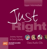 JUST RIGHT UPPER INTERMEDIATE CLASS AUDIO CD - HARMER, J., L...
