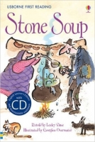 Usborne First Reading Level 2: Stone Soup + CD - Sims, L.