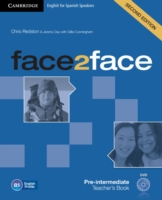 Face2face for Spanish Speakers Pre-intermediate Teacher's Bo...
