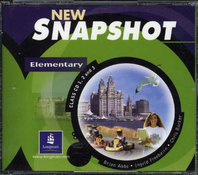 New Snapshot: Elementary Level - Audio Class Cds 1-3 - Brian...