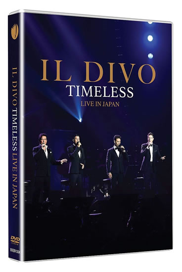 IL DIVO: Timeless Live in Japan DVD - Divo Il