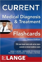 Current Medical Diagnosis and Treatment Flashcards, 2nd Ed. ...