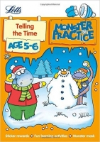 Telling the Time Age 5-6 (Letts Monster Practice)