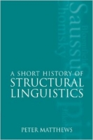 Matthews, Short History of Structural Linguistics - Peter Ma...