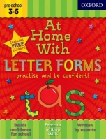 AT HOME WITH LETTER FORMS (Age 3-5) - ACKLAND, J.