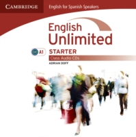 English Unlimited for Spanish Speakers Starter Class Audio Cds (2)