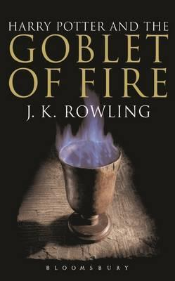 HARRY POTTER AND THE GOBLET OF FIRE Adult Edition - Joanne K. Rowling