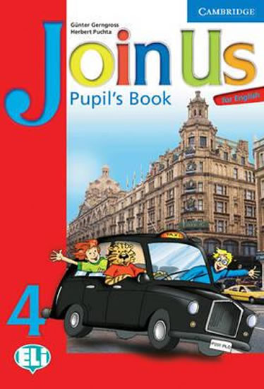 Join Us for English 4 Pupils Book - Günter Gerngross