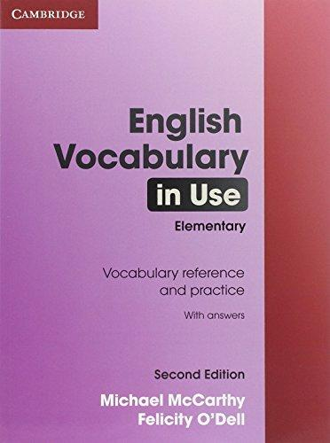 English Vocabulary in Use Elementary with Answers - McCarthy, Michael & O'Dell, Felicity