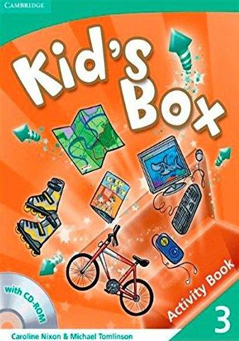 Kid's Box Level 3 Activity Book with CD-ROM - Nixon, Carolin...