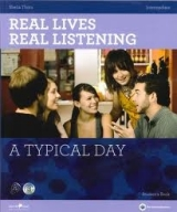 REAL LIVES, REAL LISTENING INTERMEDIATE: A TYPICAL DAY + AUDIO CD PACK - THORN, S.