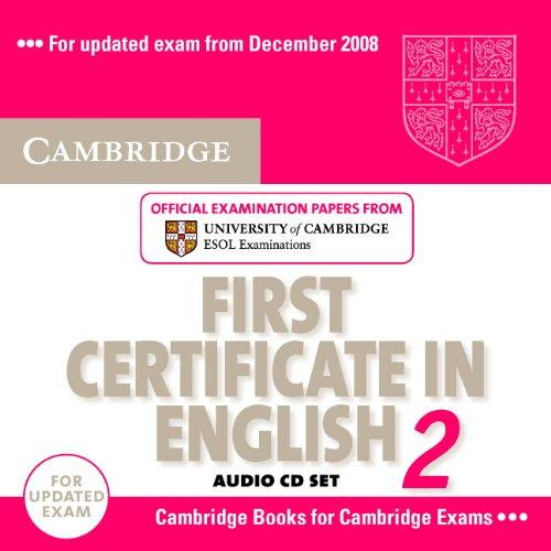 Cambridge FCE 2 for updated exam Audio CDs (2)