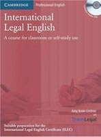 International Legal English Student´s Book + Audio Cd - Kroi...
