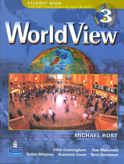 WorldView 3 with Self-Study Audio CD and CD-ROM - Michael Rost