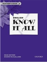 ENGLISH KNOW IT ALL 3 TEACHER´S BOOK - MCCLELLAND, S., SNYDE...