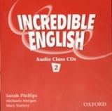 INCREDIBLE ENGLISH 2 CLASS AUDIO CDs /2/ - MORGAN, M., PHILL...