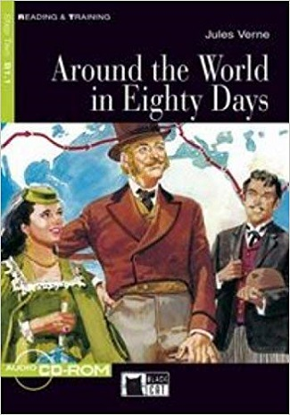AROUND THE WORLD IN EIGHTY DAYS + CD (Black Cat Readers Level 2) - VERNE, J.