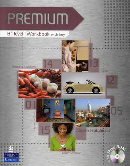 Premium B1 Workbook w/ Multi-Rom Pack (w/ key) - Susan Hutchison