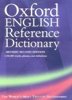 OXFORD ENGLISH REFERENCE DICTIONARY 2nd Edition - PEARSALL, ...