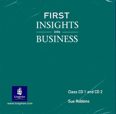 First Insights into Business - S. Robbins