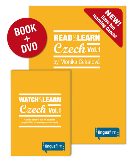 Read + Learn Czech Vol.1 (učebnice+DVD) - Monika Čekalová