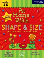 AT HOME WITH SHAPE & SIZE (Age 3-5) - ACKLAND, J.