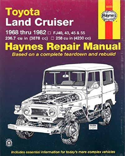 Toyota Land Cruiser (68-82) Automotive Repair Manual - John ...