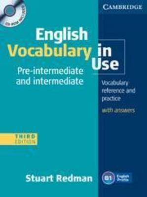 English vocabulary in use 3E Pre- intermediate ant intw. Answer CD - ROM - Stuart Redman
