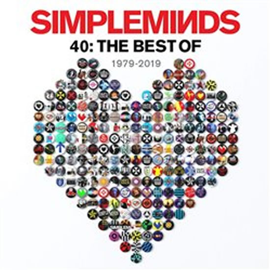 Simple Minds: 40: The Best Of 1979 - 2019 - CD - Simple Minds