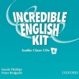 INCREDIBLE ENGLISH 6 CLASS AUDIO CDs /3/ - PHILLIPS, S., RED...