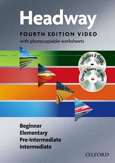 New Headway Beginner Intermediate Video with Photocopiable Worksheets (4th) - John Soars