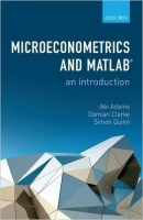 Microeconometrics and MATLAB: An Introduction - Adams, A., C...