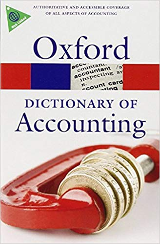 OXFORD DICTIONARY OF ACCOUNTING 4th Edition (Oxford Paperbac...