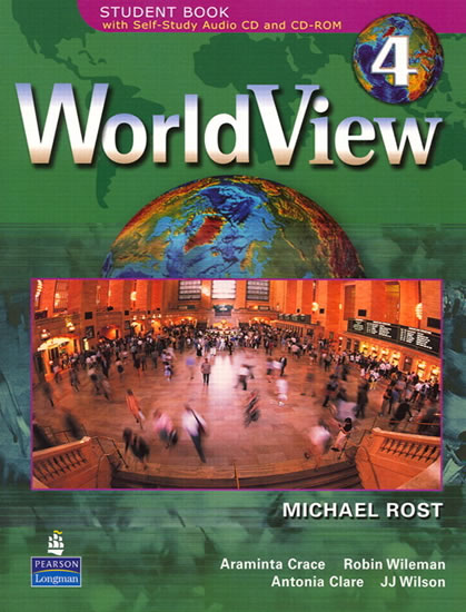 WorldView 4 Student Book 4A w/CD-ROM (Units 1-14) - Michael Rost