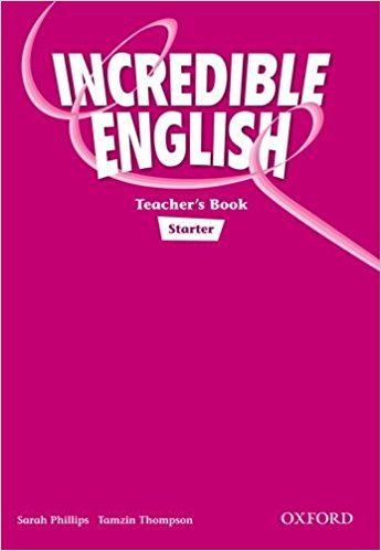 INCREDIBLE ENGLISH STARTER TEACHER´S BOOK - PHILLIPS, S., MO...