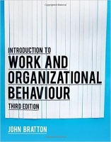 Introduction to Work and Organizational Behaviour, 3rd Ed. -...