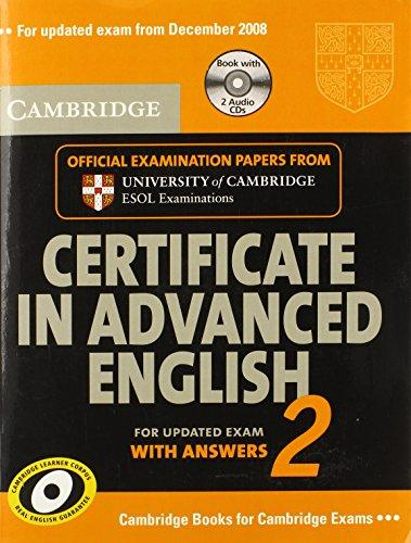 Cambridge CAE 2 for updated exam Self-study Pack (Student's ...