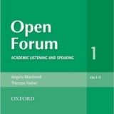 OPEN FORUM 1 CLASS AUDIO CDs /3/ - BLACKWELL, A.