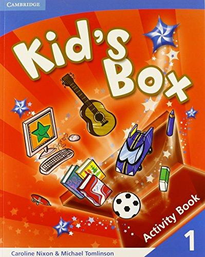 Kid's Box Level 1 Activity Book - Caroline Nixon, Michael Tomlinson