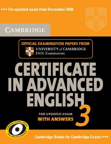 Cambridge CAE 3 for updated exam Self-study Pack (Student's ...