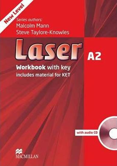 Laser (3rd Edition) A2: Workbook with key + CD - Steve Taylore-Knowles