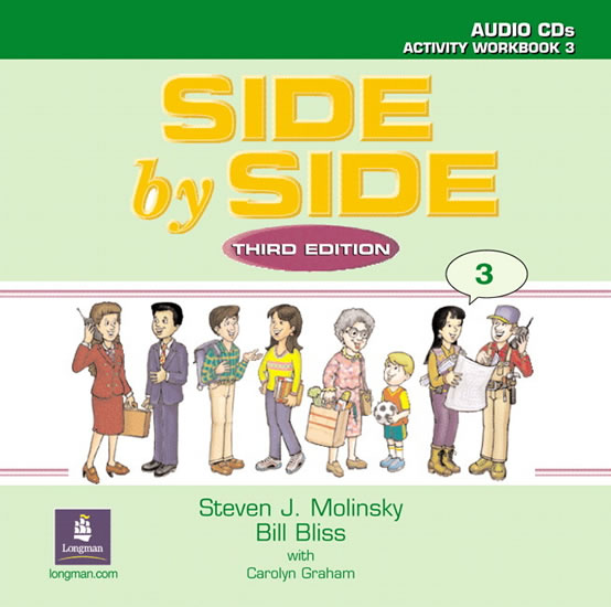 Side by Side 3 Activity Workbook 3 Audio CDs (2) - Steven J. Molinsky